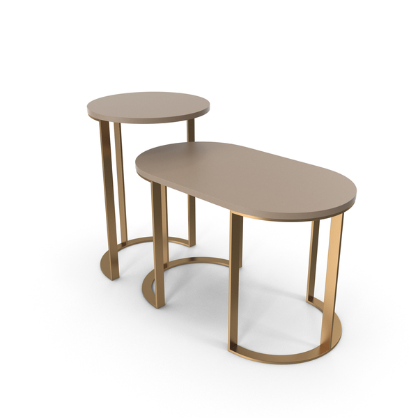 Milldue Side Table Set PNG & PSD Images