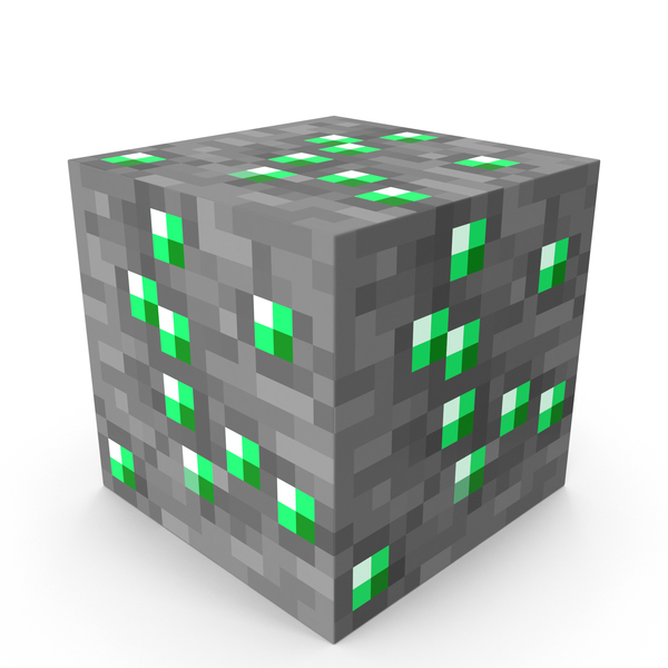 Minecraft Emerald Ore PNG & PSD Images