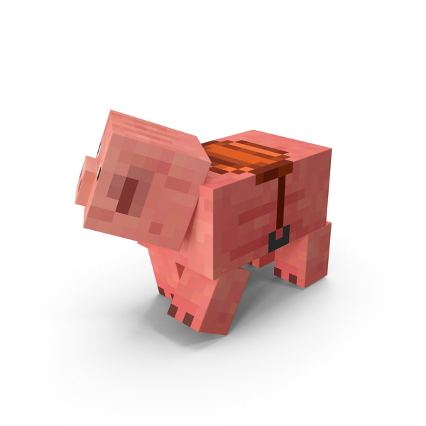Minecraft Pig PNG & PSD Images