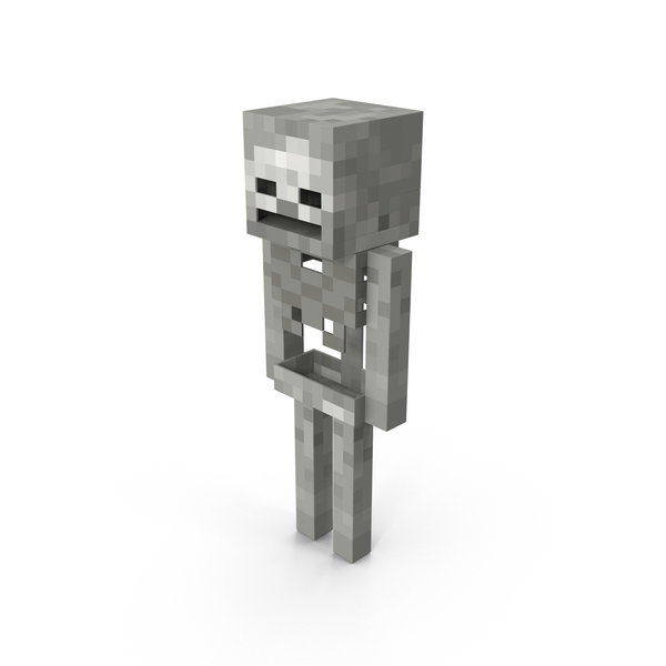 Minecraft Skeleton PNG & PSD Images