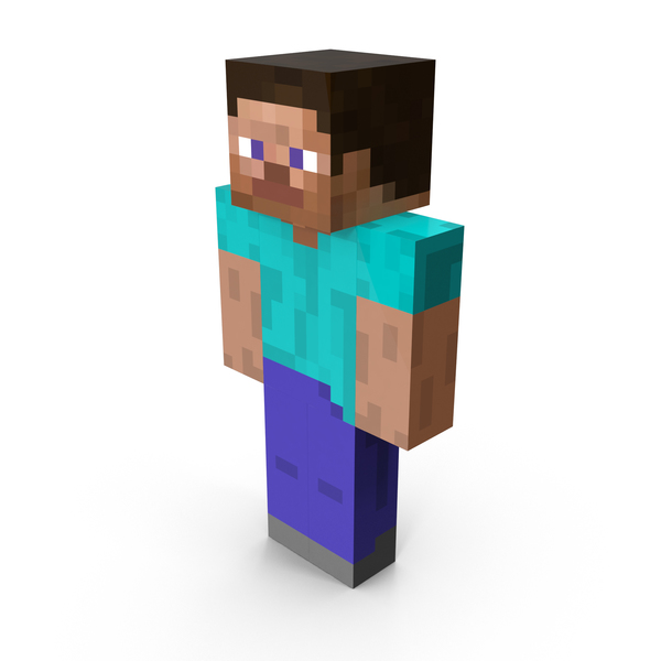 Minecraft Steve PNG & PSD Images