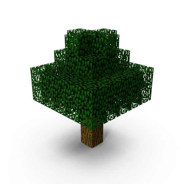 Minecraft Tree PNG & PSD Images
