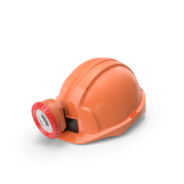 Headlamp: Miner Helmet With Lamp PNG & PSD Images