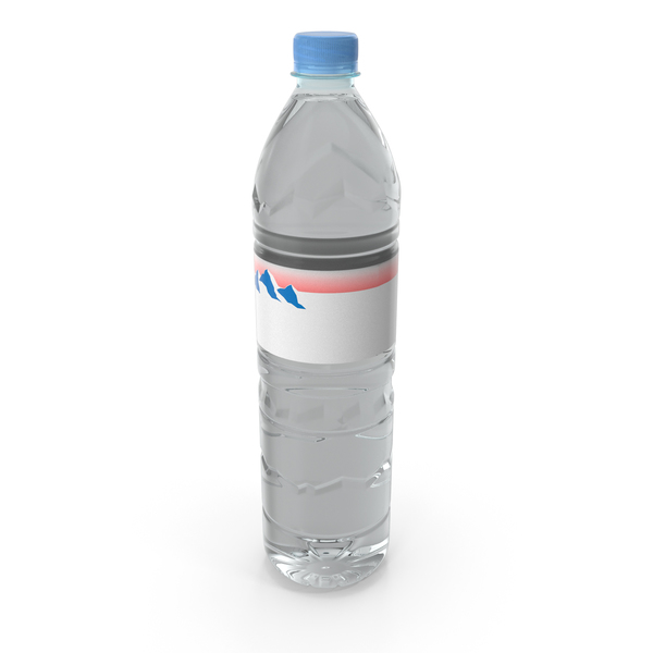 Mineral Water Plastic Bottle PNG & PSD Images