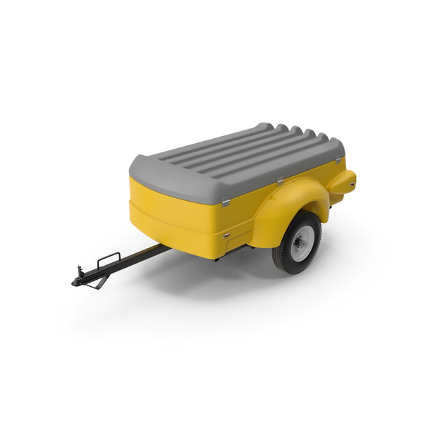 Mini Cargo Utility Trailer PNG & PSD Images