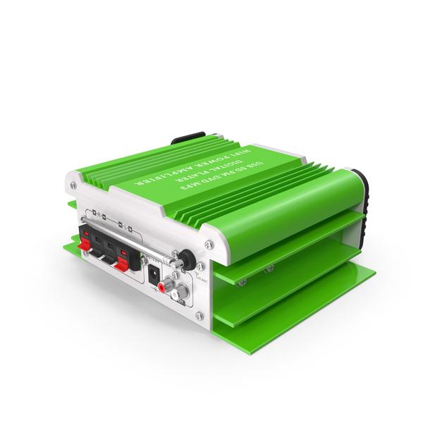 Retro Microphone: Mini Karaoke Green PNG & PSD Images