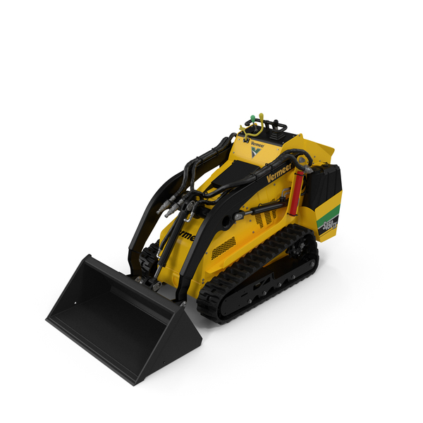 Mini Loader Vermeer S450TX with Bucket PNG & PSD Images
