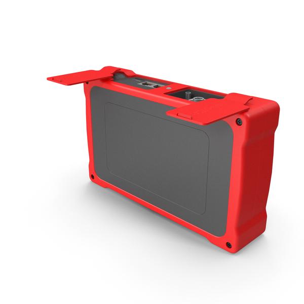 Optical Fiber: Mini OTDR Open Port Red PNG & PSD Images