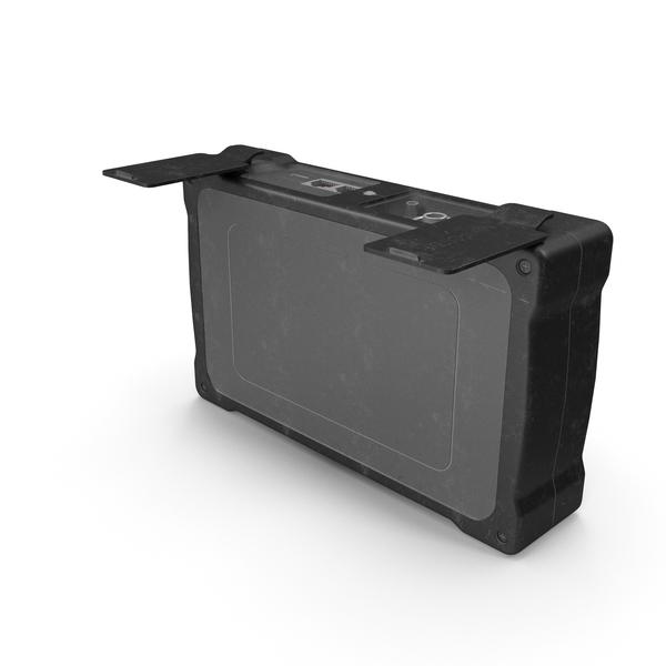 Mini OTDR OpenPort Black Used PNG & PSD Images