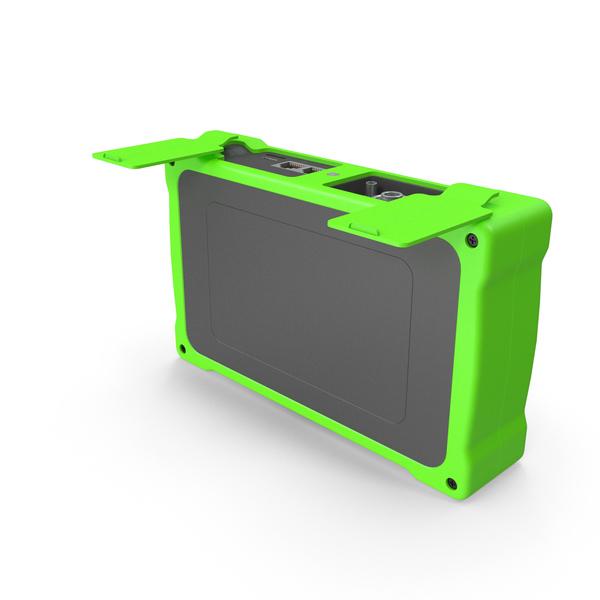 Mini OTDR OpenPort Green PNG & PSD Images