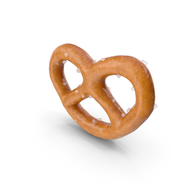 Mini Pretzel with Salt PNG & PSD Images
