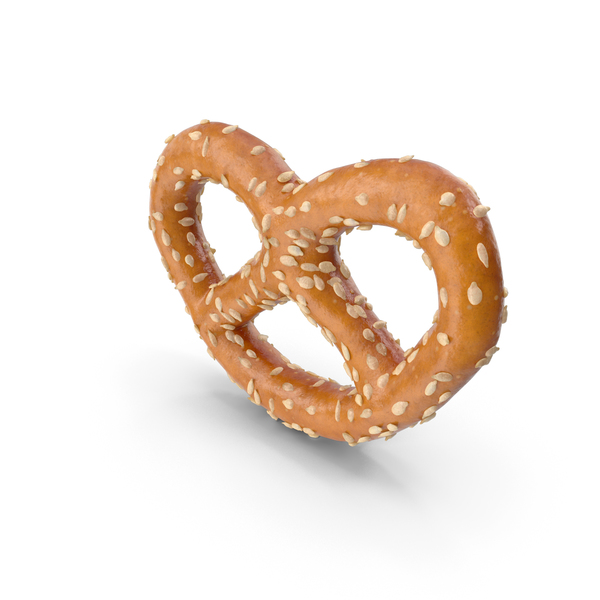 Mini Pretzel With Sesame PNG & PSD Images
