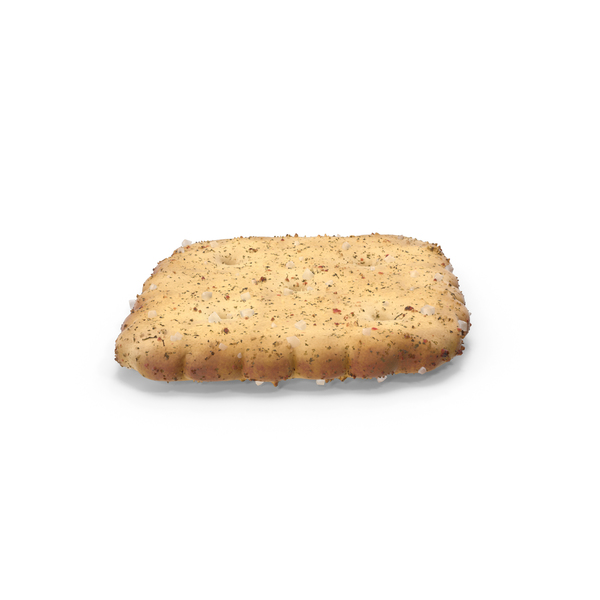 Mini Rhombus Cracker with Seasoning PNG & PSD Images