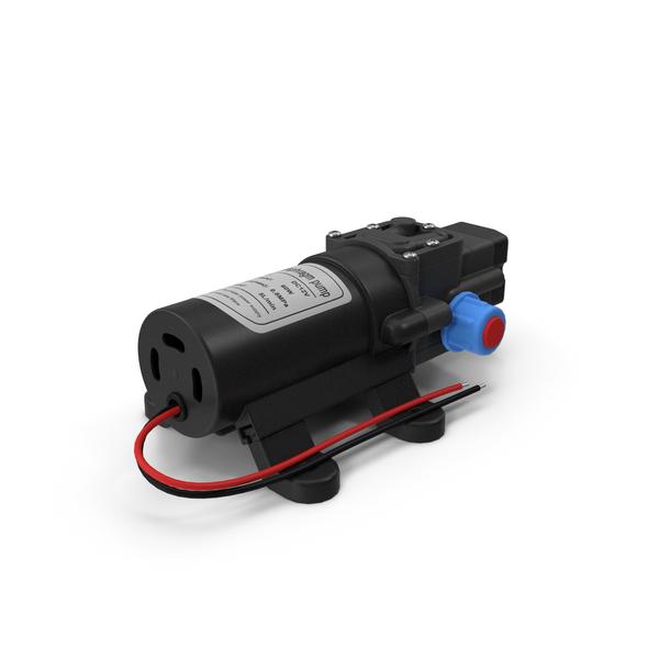 Mini Water Pump PNG & PSD Images
