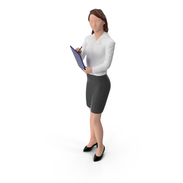 Toy: Miniature Business Woman PNG & PSD Images
