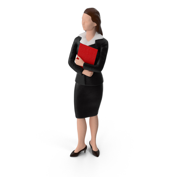 Miniature Business Woman PNG & PSD Images