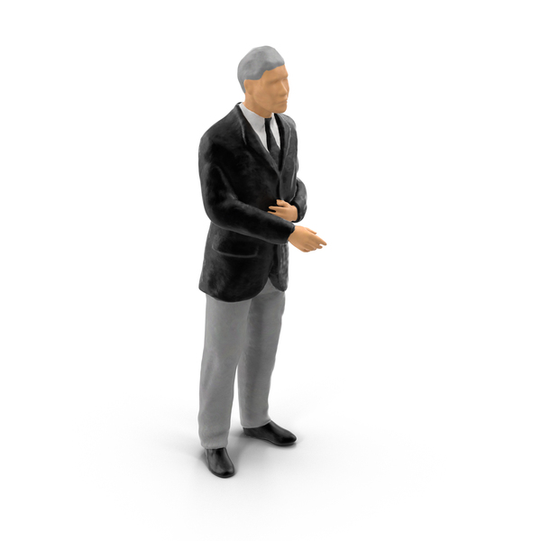 Miniature Businessman Object