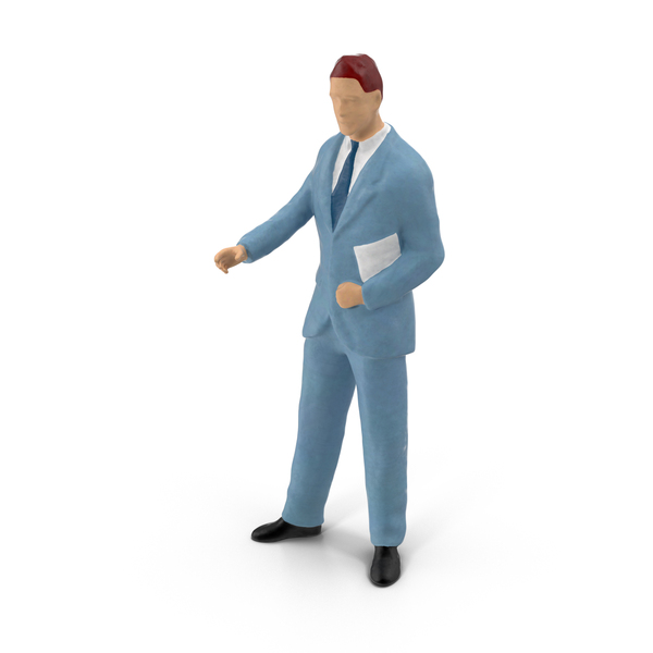 Toy: Miniature Businessman PNG & PSD Images