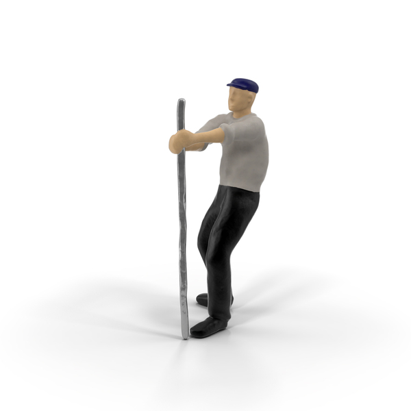 Miniature Man at Work PNG & PSD Images