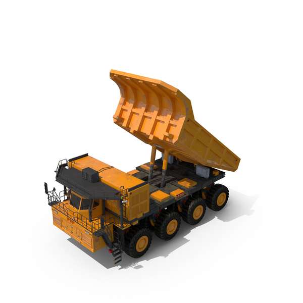 Mining Truck Hopper Up Object
