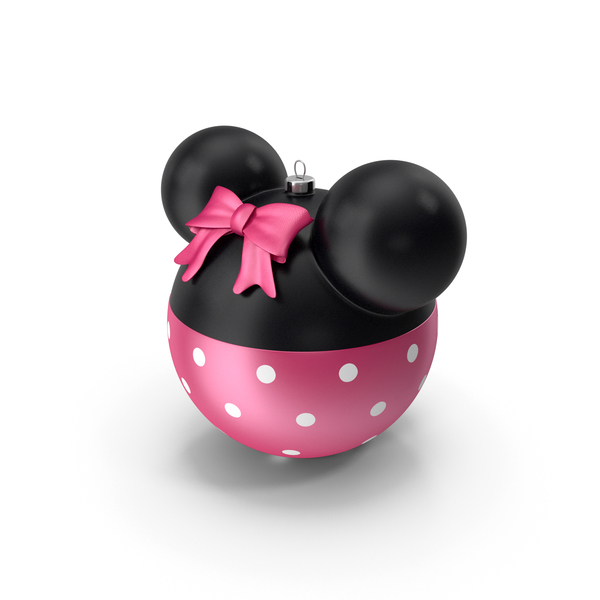 Minnie Mouse Christmas Ball PNG & PSD Images