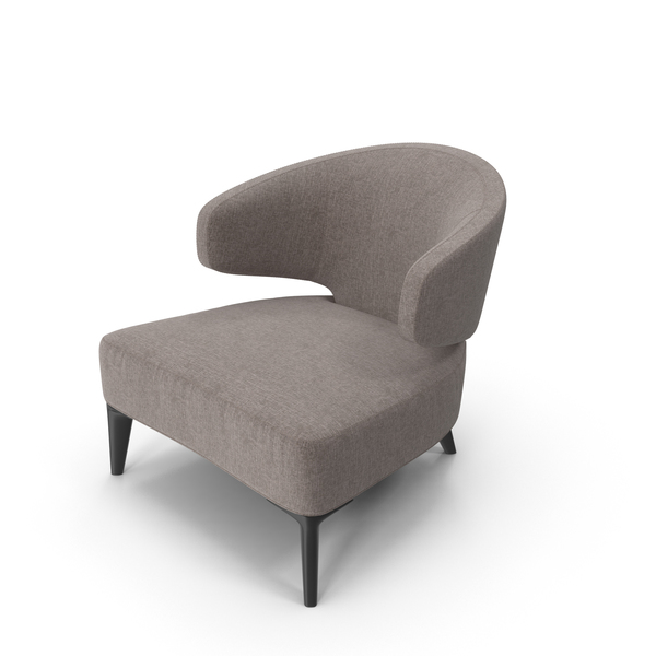 Arm Chair: Minotti Aston Armchair PNG & PSD Images