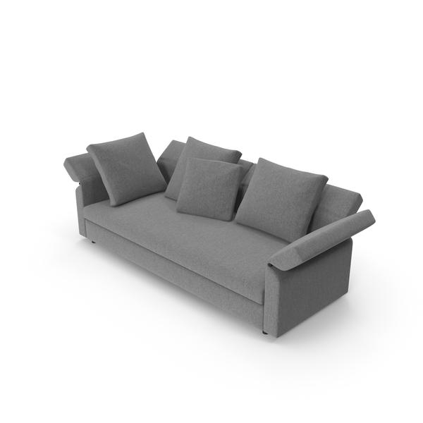 Minotti Collar Sofa PNG & PSD Images
