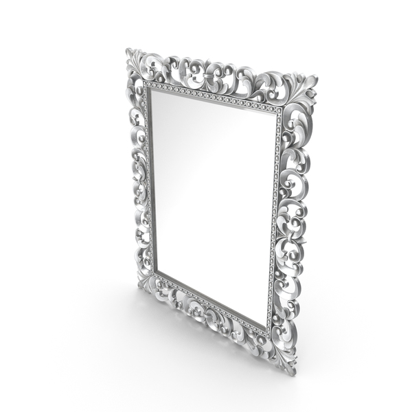 Mirror Lineatre Gold Componibile Rectangular PNG & PSD Images