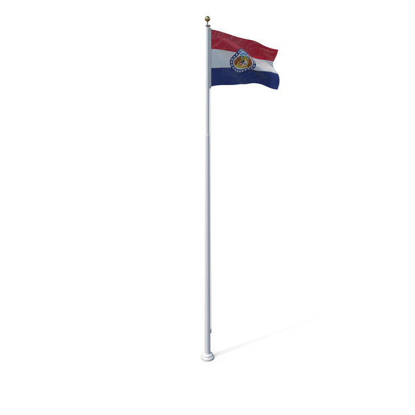 Missouri State Flag Object