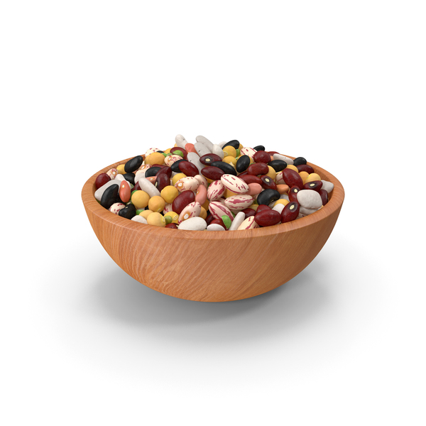 Mixed Legume Beans on a Plate PNG & PSD Images