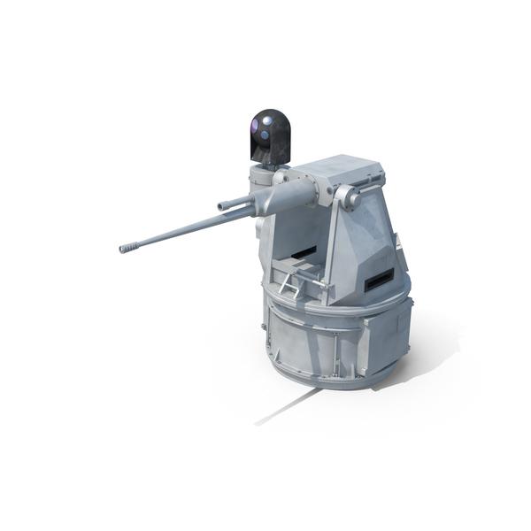Cannon: MK38 Mod 2 Autocannon PNG & PSD Images