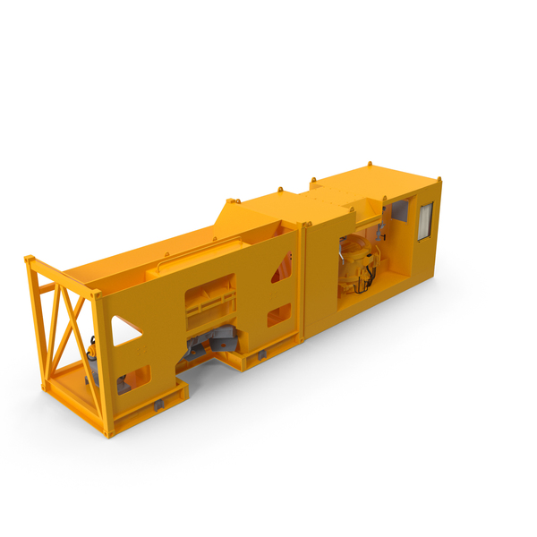Mobile Concrete Batching Plant PNG & PSD Images