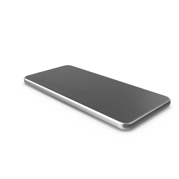 Mobile Phone Silver PNG & PSD Images