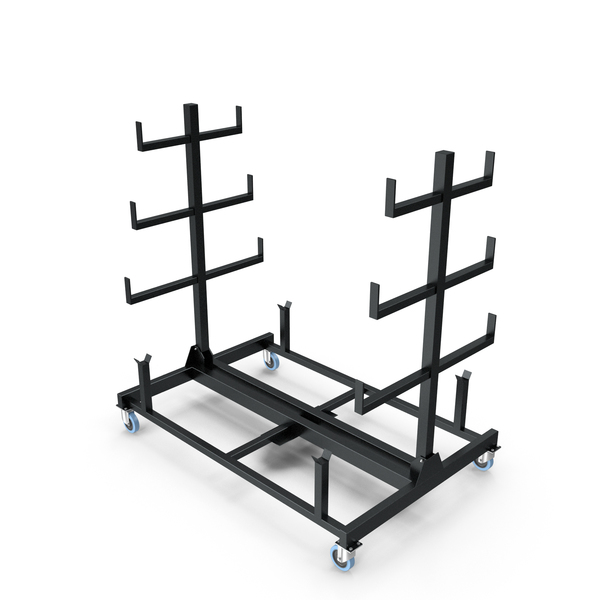 Weight Plate Tree: Mobile Pipe Rack PNG & PSD Images