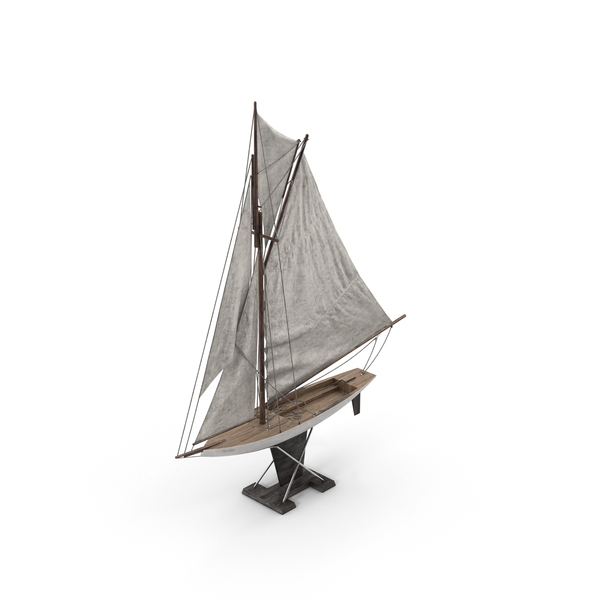 Model Sailboat Object