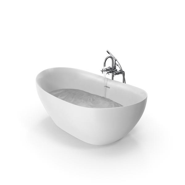 Bath: Modern Bathtub PNG & PSD Images