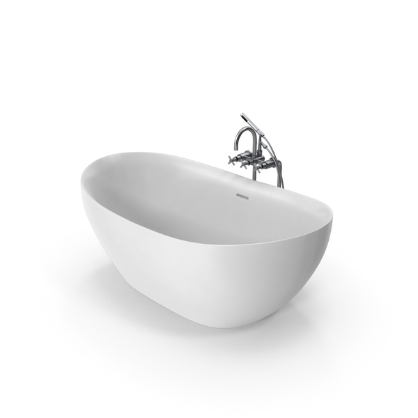 Bath: Modern Bathtub PNG & PSD Images