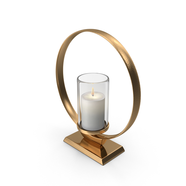 Candlestick: Modern Candle Holder PNG & PSD Images