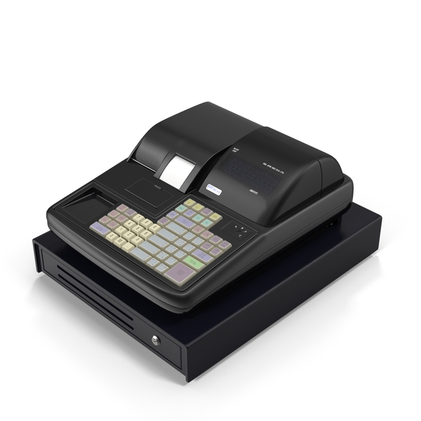 Modern Cash Register PNG & PSD Images
