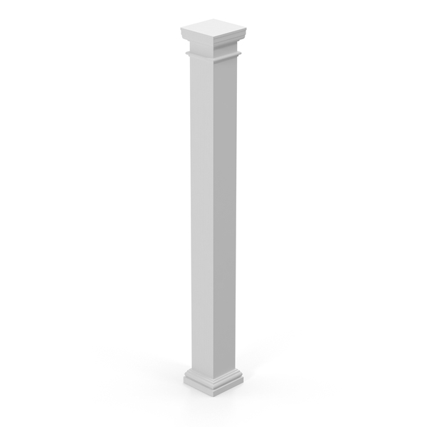 Modern Column and Capital PNG & PSD Images