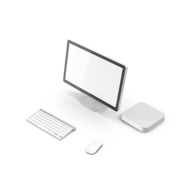 Modern Computer Setup Object