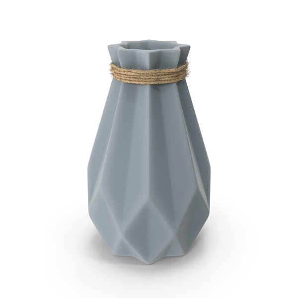 Modern Fashion Diamond Shape Vase PNG & PSD Images