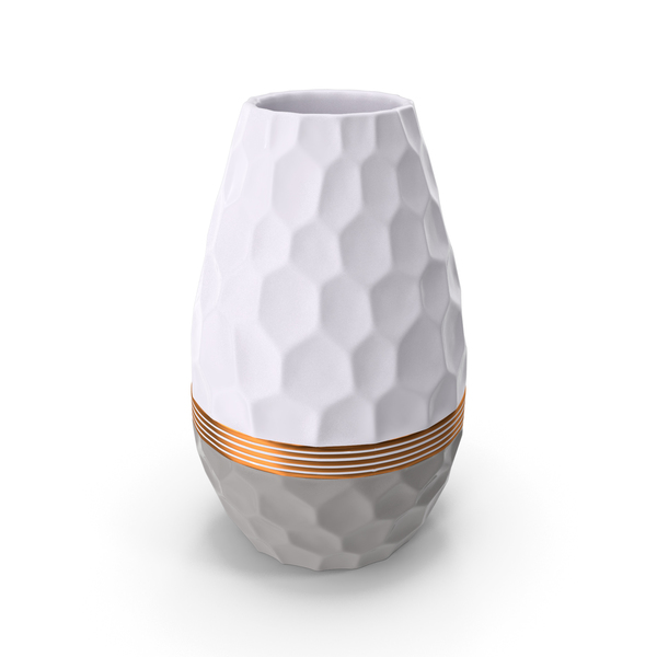 Modern Fashion Hexagon Vase PNG & PSD Images