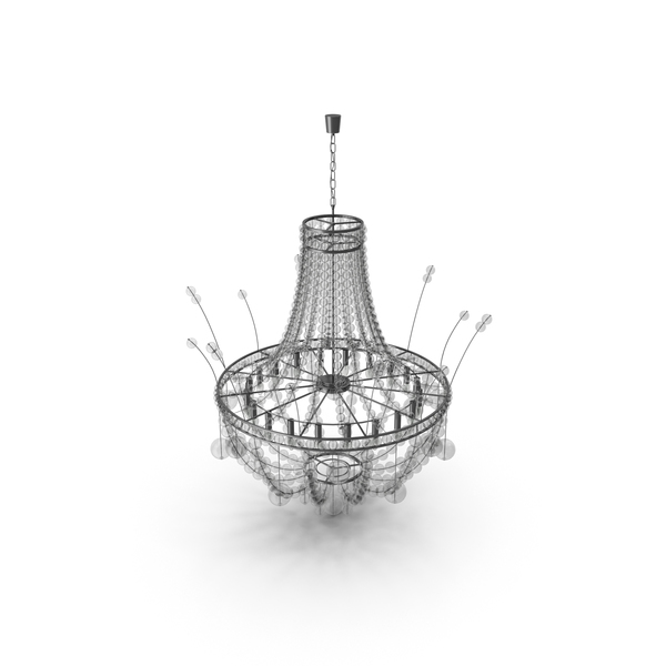Modern Glass Chandelier PNG & PSD Images