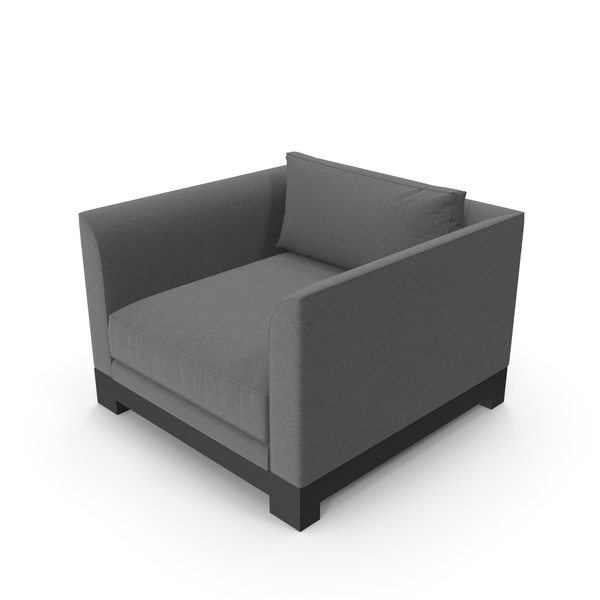 Modern Grey Chair PNG & PSD Images