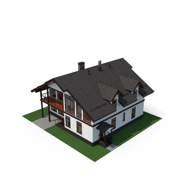 Modern House Object