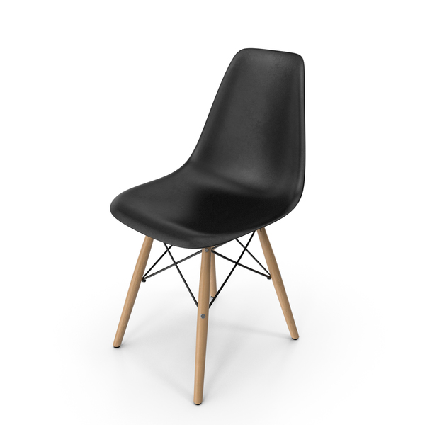 Modern Molded Plastic Shell Arm Chair PNG & PSD Images