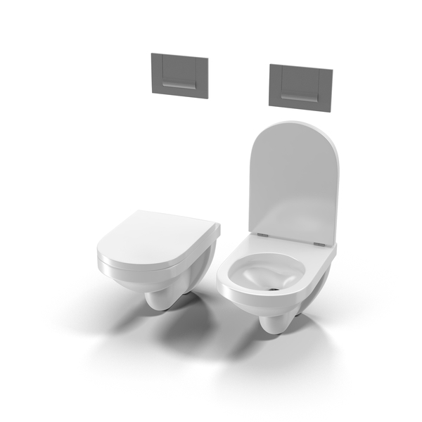Modern Pan and Bidet PNG & PSD Images