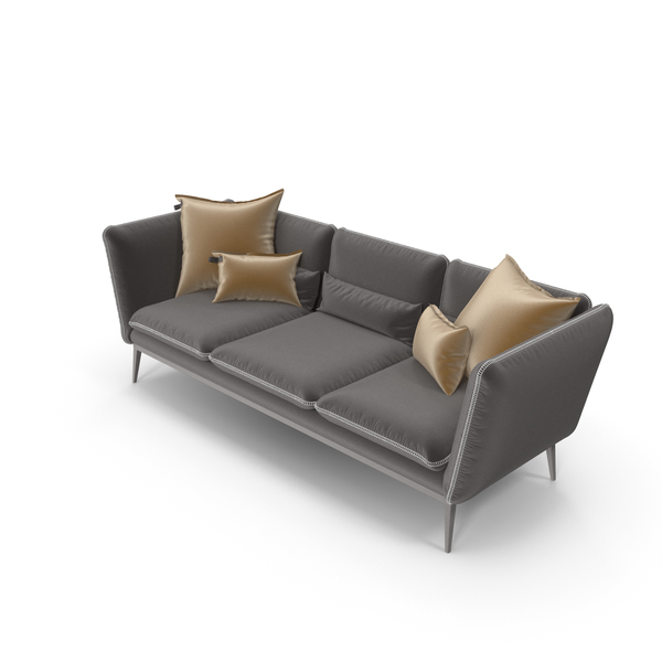 Modern Sofa Brown PNG & PSD Images
