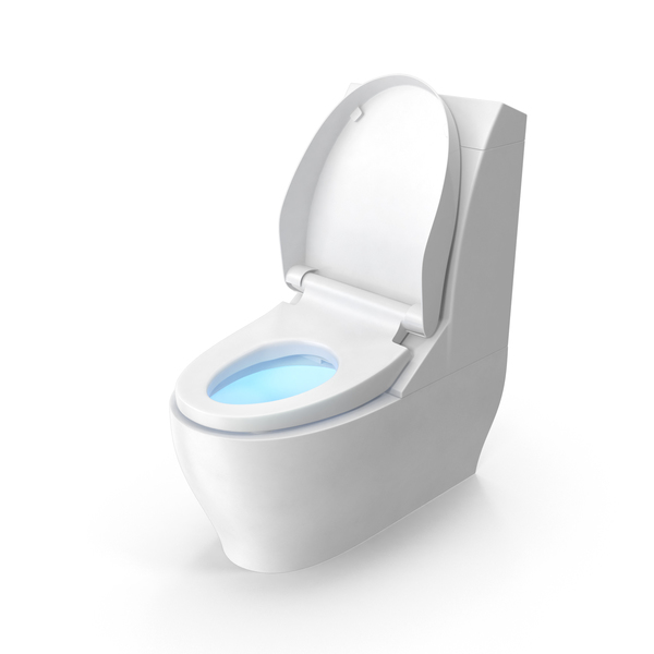 Modern Toilet Seat Up PNG & PSD Images